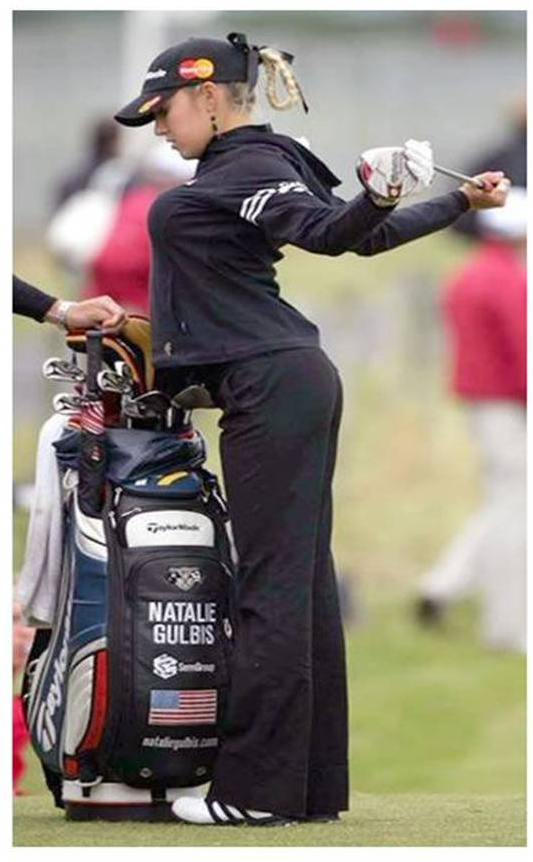 Natalie Gulbis in Winning Form