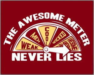 awesome-meter